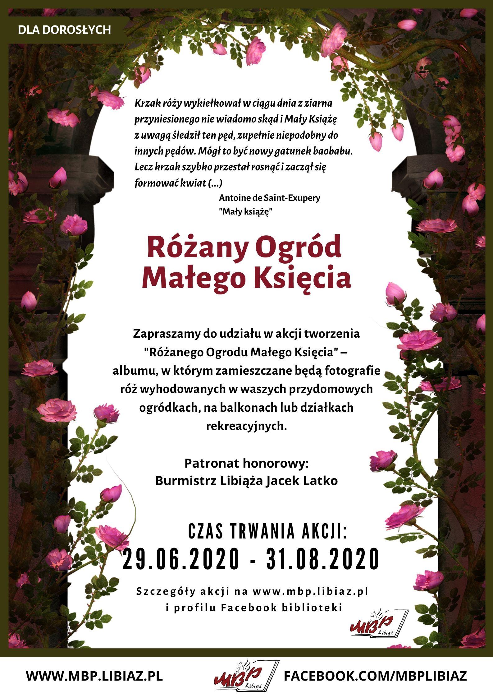 Różany Ogród Małego Księcia