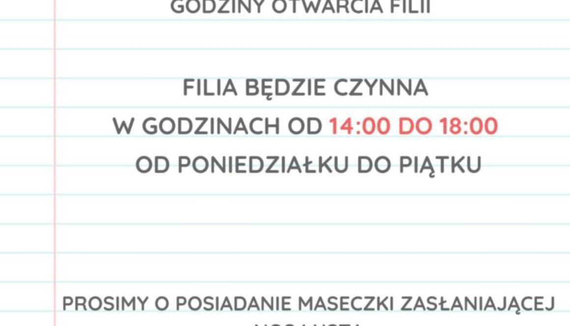 Kopia Filia nr 2 w Libiążu ponownie otwarta