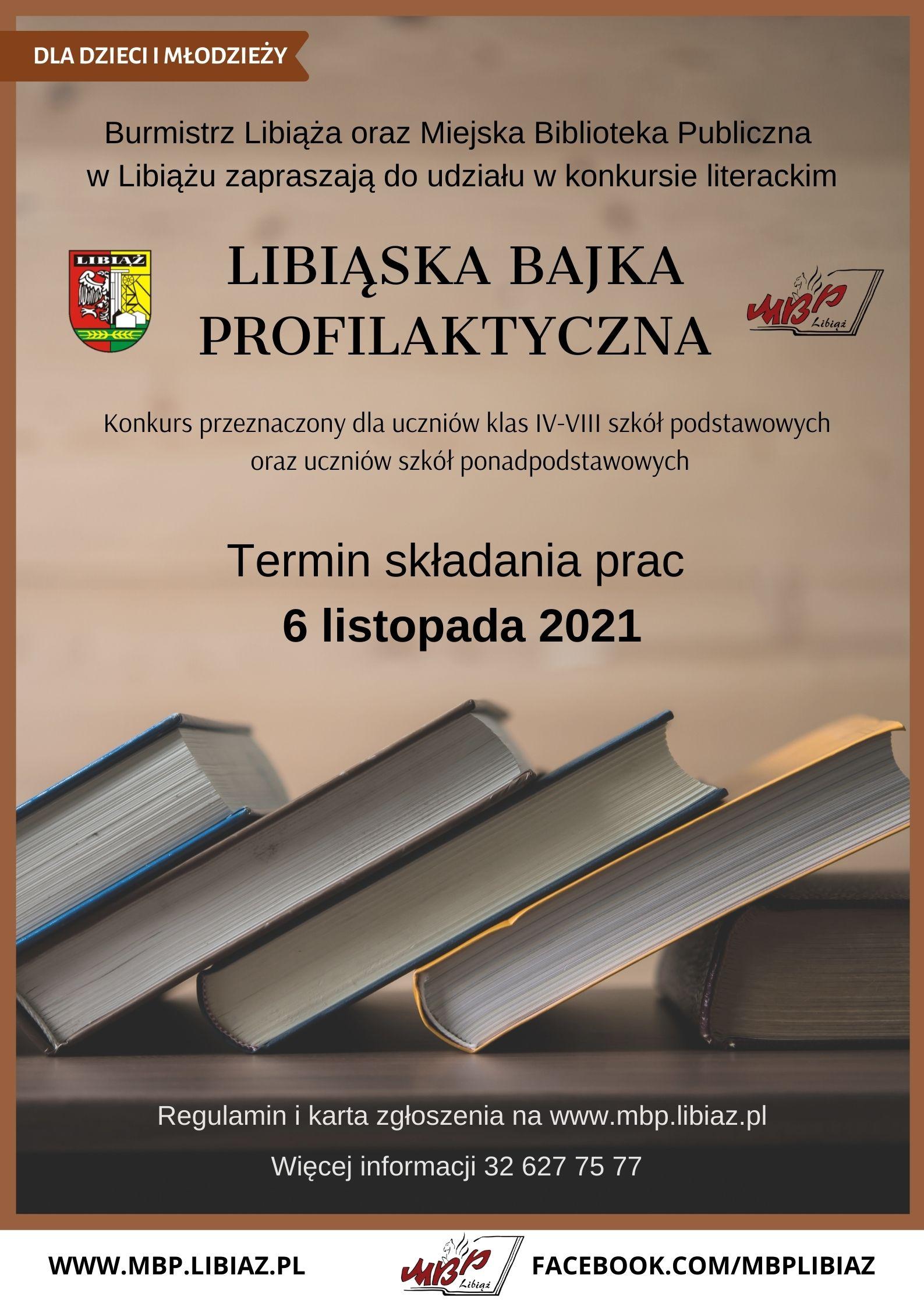 Konkurs na Libiąską Bajkę Profilaktyczną